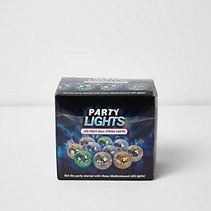 Guirlande lumineuse à LED style disco