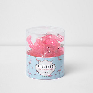 Flamingo fairy lights