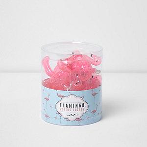 Sprookjesachtige flamingoverlichting