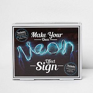 """""""Make your own neon effect""""-Zeichen"""