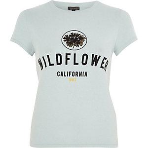 """Grünes T-Shirt """"Wildflower"""""""