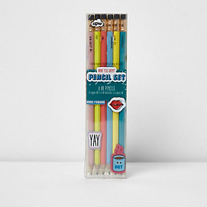 What you sayin'? Slogan pencil set
