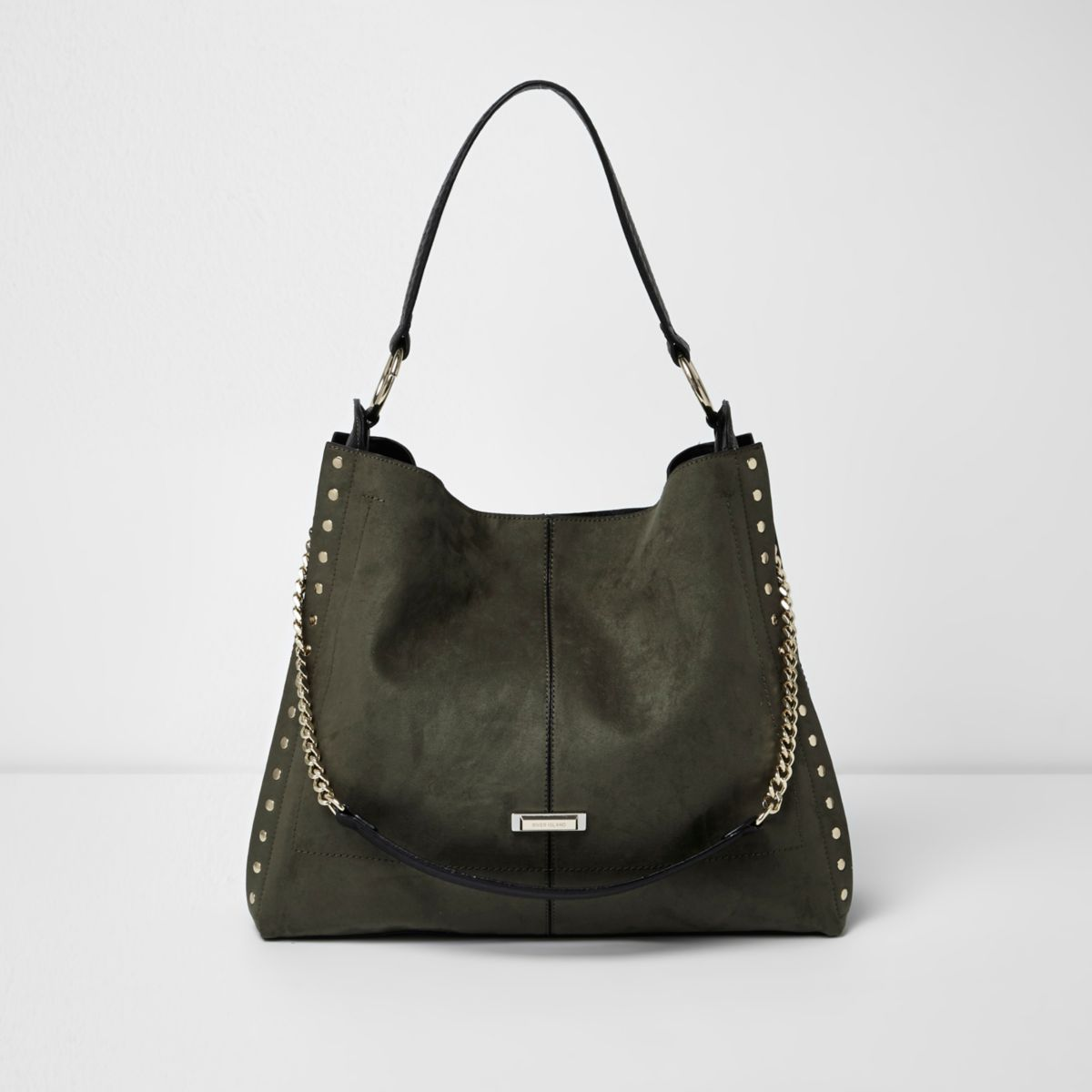 River Island Black And Cream Purse
