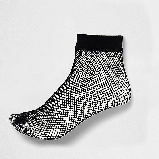 Socquettes résille noires