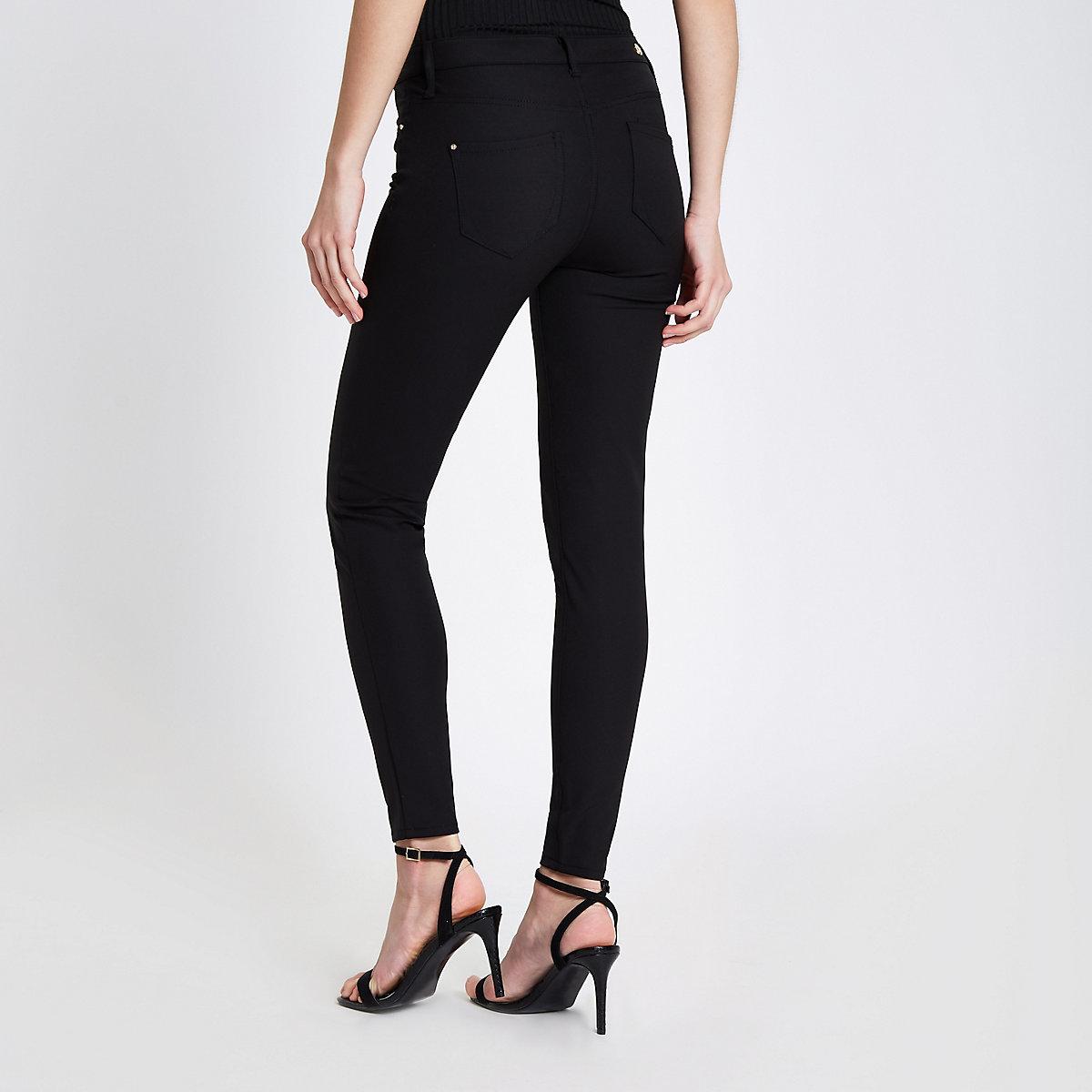 Molly – Schwarze Skinny Fit Hose - Skinny Fit Hosen - Hosen - Damen 4105d74b39