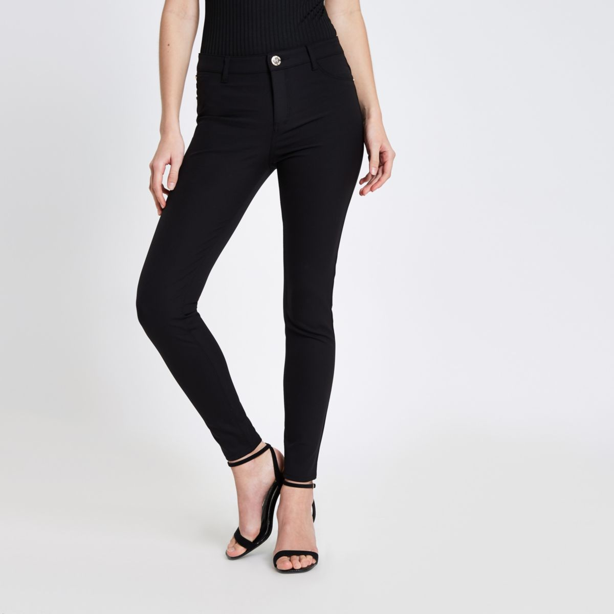 Find black skinny leg pants at ShopStyle. Shop the latest collection of black skinny leg pants from the most popular stores - all in one place.
