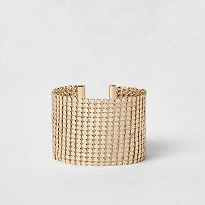 Bracelet doré à maillons