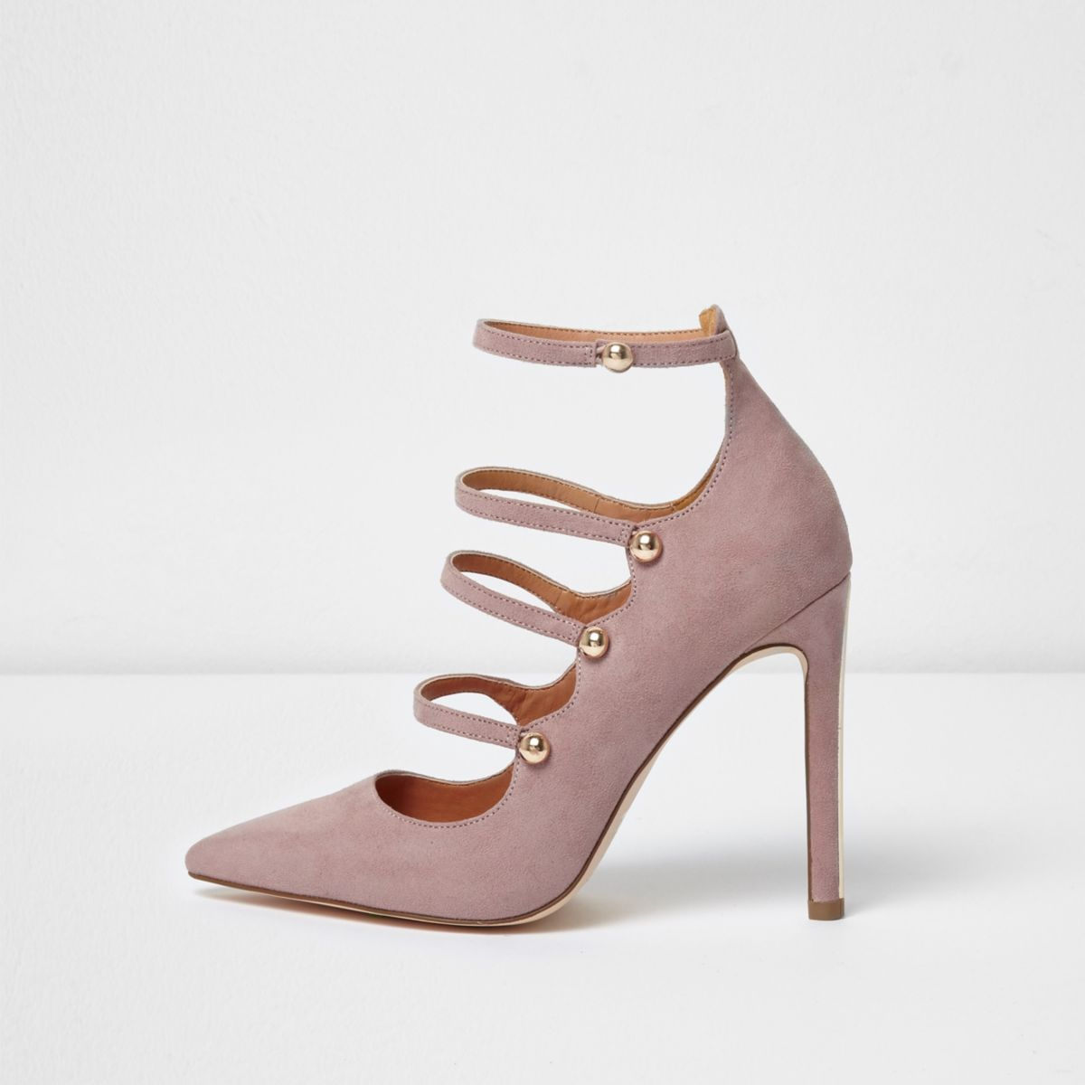 Light purple strappy court shoes - Shoes - Shoes & Boots - women
