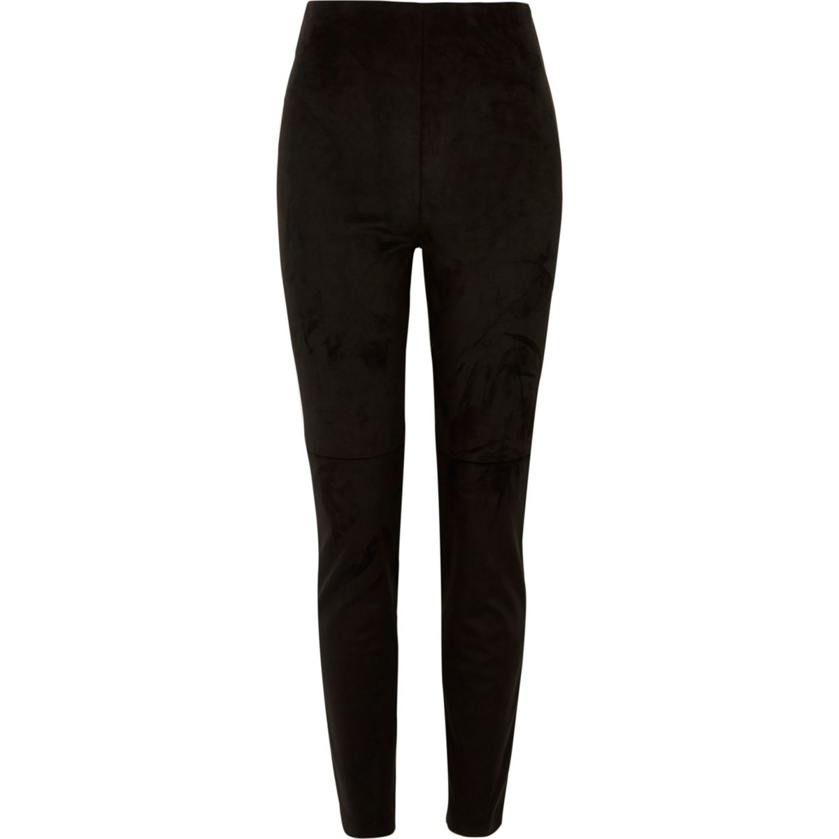 Black moleskin skinny trousers