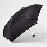 Black pug umbrella
