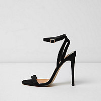 Sandales minimalistes noires