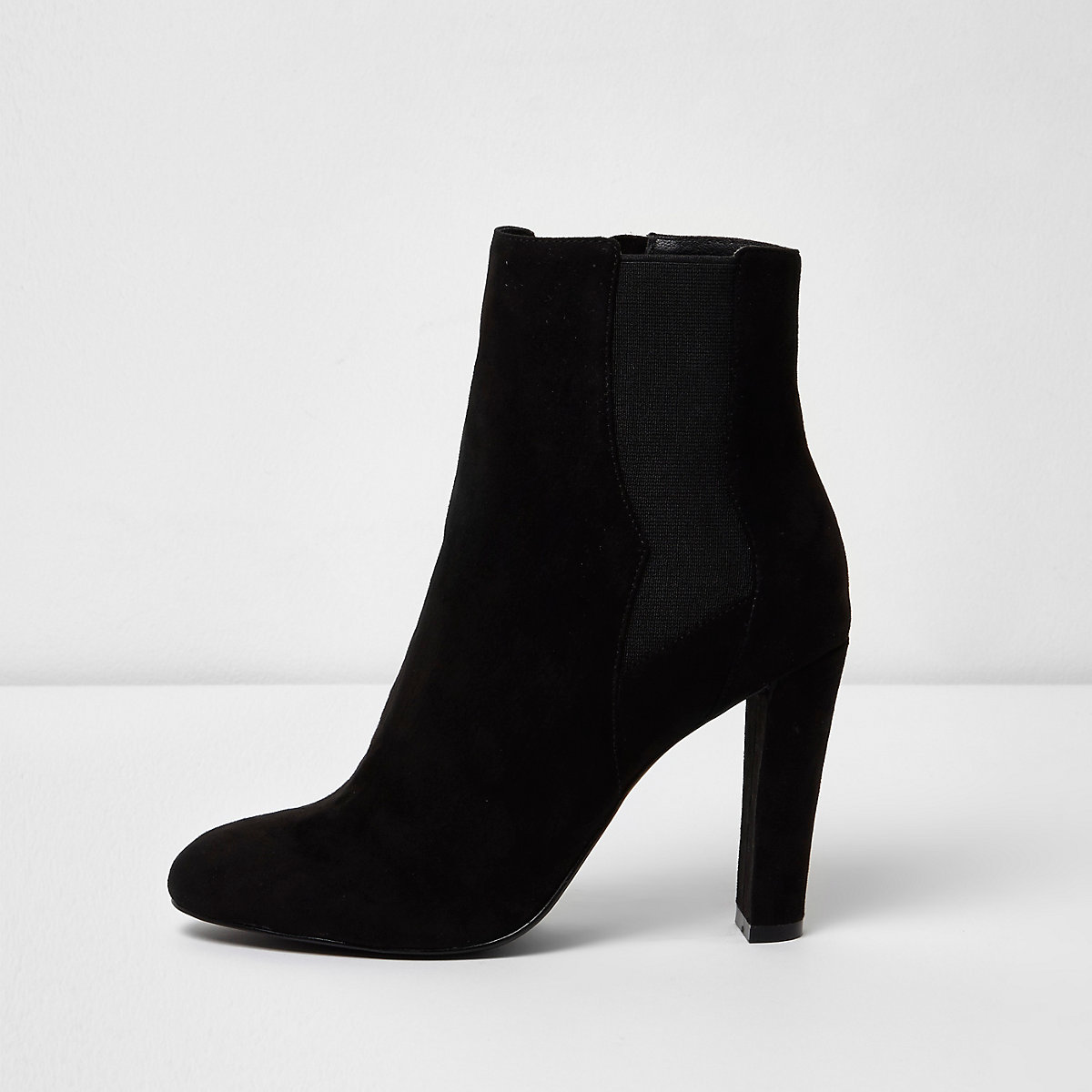 Black heeled chelsea boots - Boots - Shoes   Boots - women 09651dac5