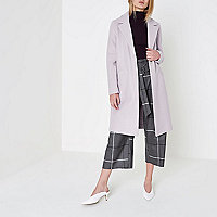 Lilac tailored coat