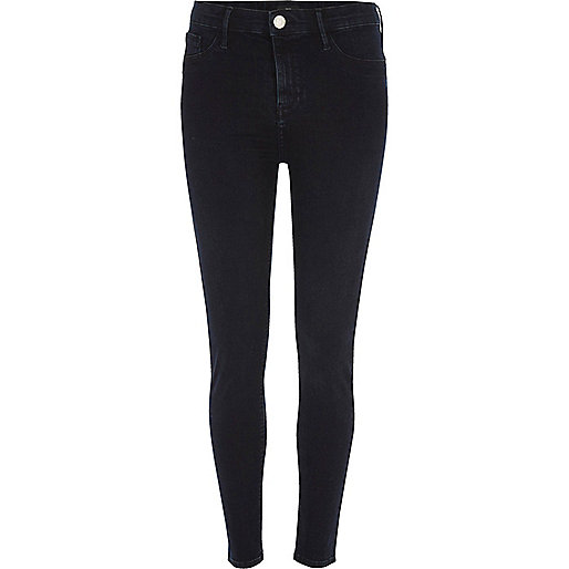 Blue black Molly skinny fit jeggings