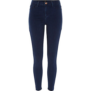 Molly – Jegging skinny bleu moyen authentique