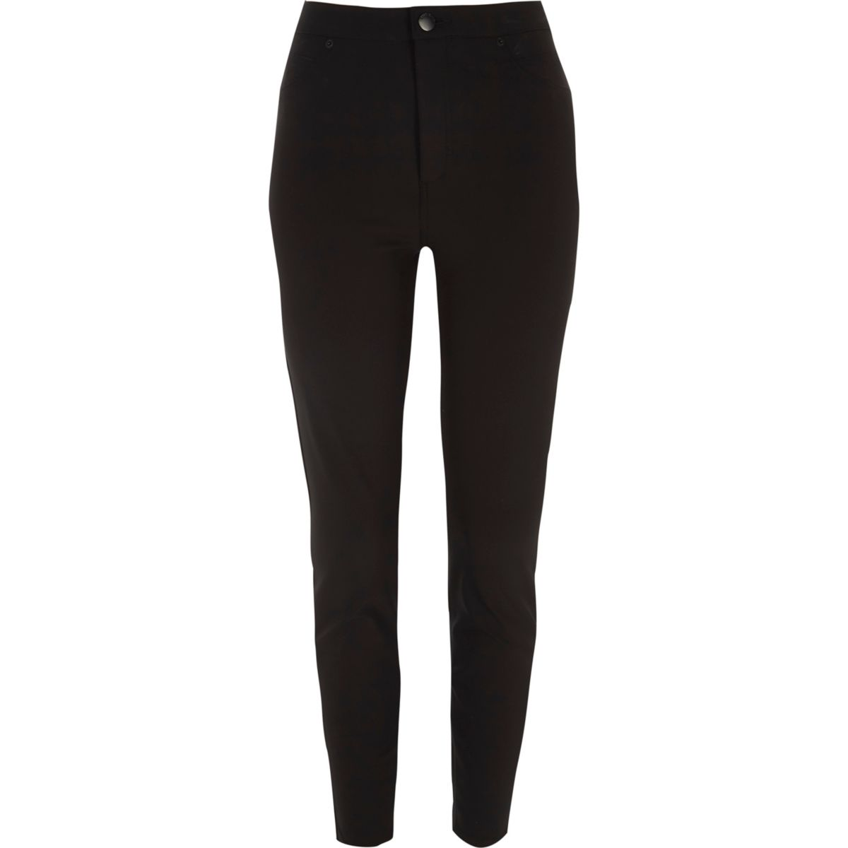 Black high rise Molly skinny trousers