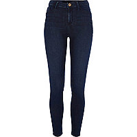 Dark blue Molly reform skinny jeggings