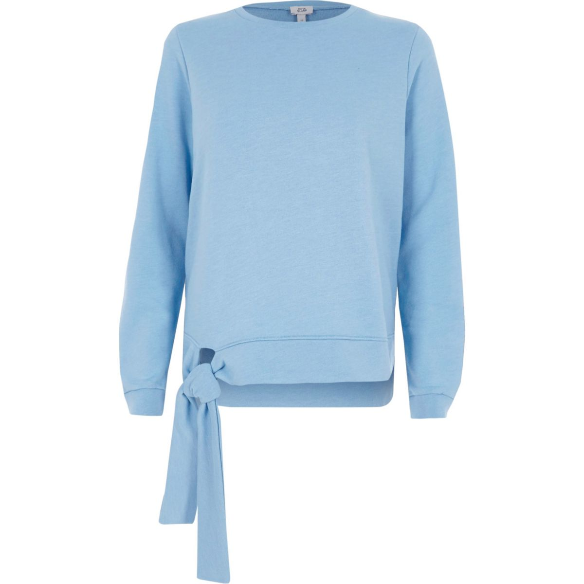 Hellblaues Sweatshirt