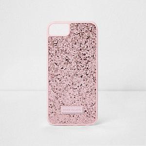 Pinke, glitzernde Handy-Hülle