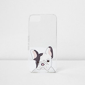 White cute dog phone case