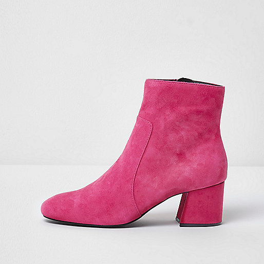 New Look Pink Suede Shoes