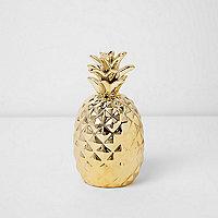 Goldenes Ananas-Ornament