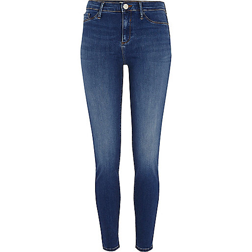 Mid blue Molly skinny jeggings