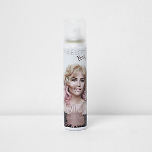 Pixie Lott pastel glitter paint hairspray