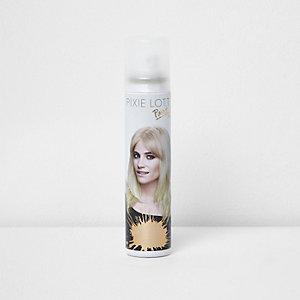 Pixie Lott – Spray à paillettes dorées pour cheveux