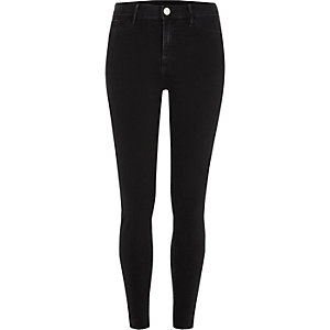 Black Molly skinny fit jeggings