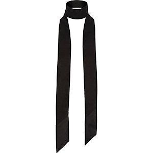 Écharpe fine noire