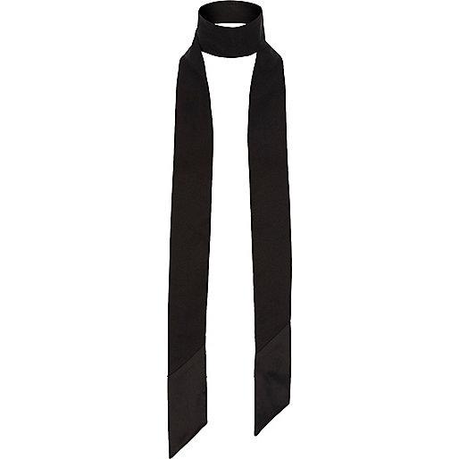 Zwarte smalle sjaal