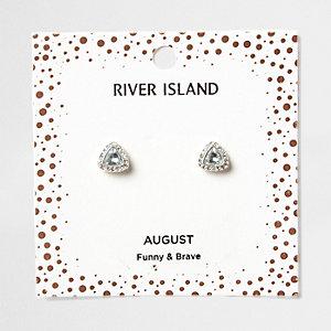Clous d'oreilles avec pierre de naissance mois d'août