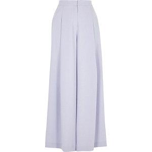 Pantalon large bleu clair