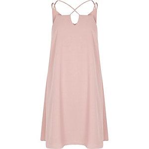 Kleid in Hellrosa