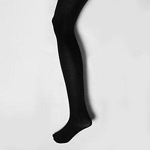 Schwarze Strumpfhose, 80 DEN