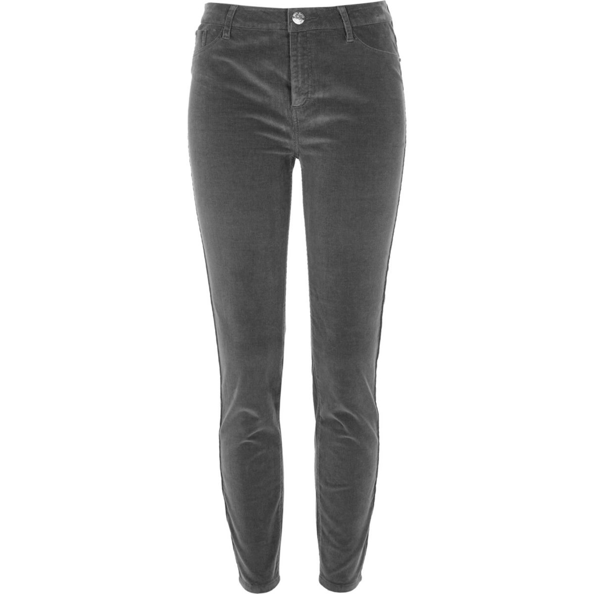 Light brown cord Molly skinny trousers
