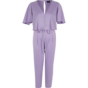 Jumpsuit in Helllila