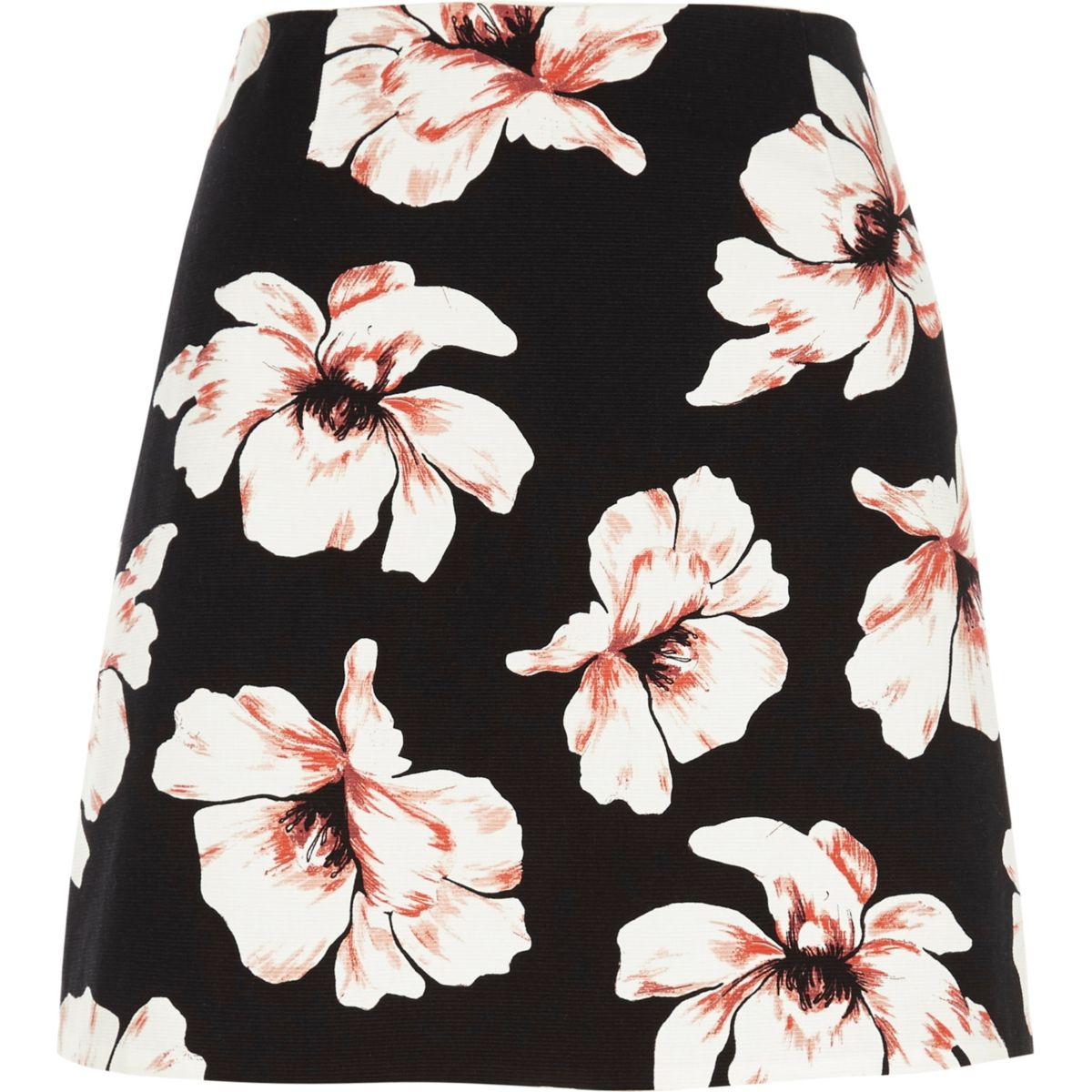black floral print mini skirt skirts sale women