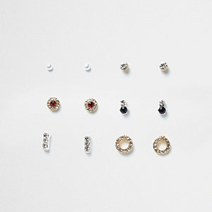 Stud earrings multipack