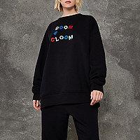 Black Ashish 'doom and gloom' sweater