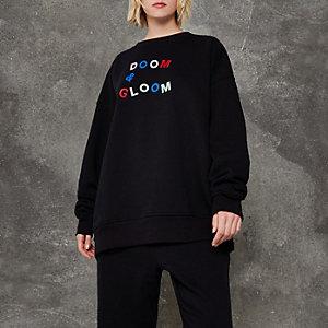 Black Design Forum 'doom and gloom' jumper