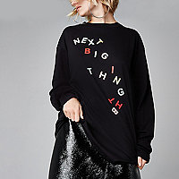 Black Ashish 'next big thing' T-shirt
