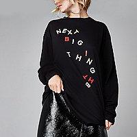 Black Ashish 'next big thing' T-shirt