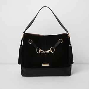 Zwarte tas om onder de arm te dragen