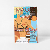 Magic Bodyfashion - Set met beha's met racerback en bandjes