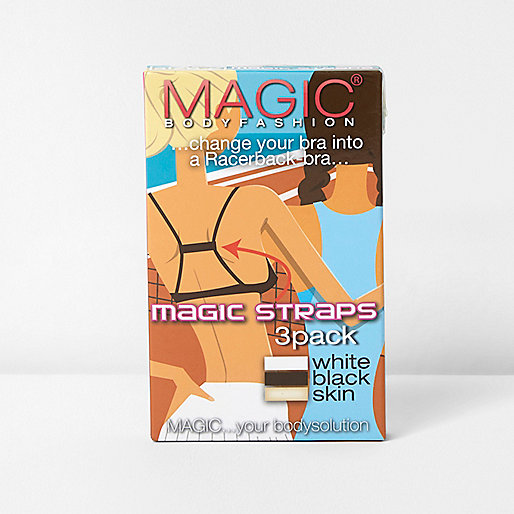Magic Bodyfashion bra racer back straps pack