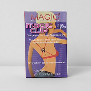 Magic Bodyfashion racer back bra clip pack