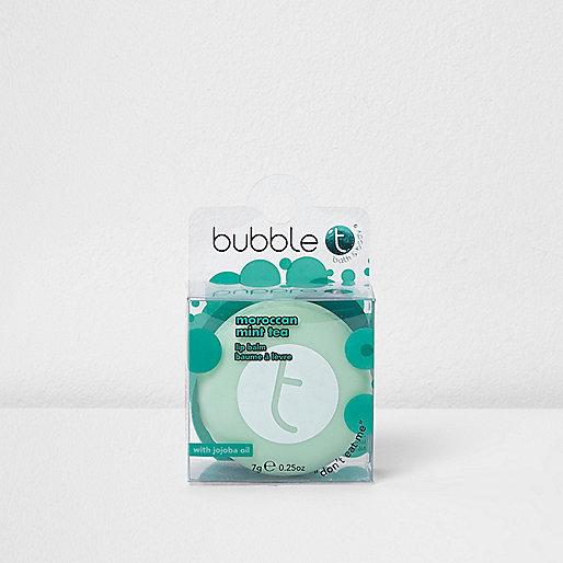 Bubble T Moroccan mint tea lip balm