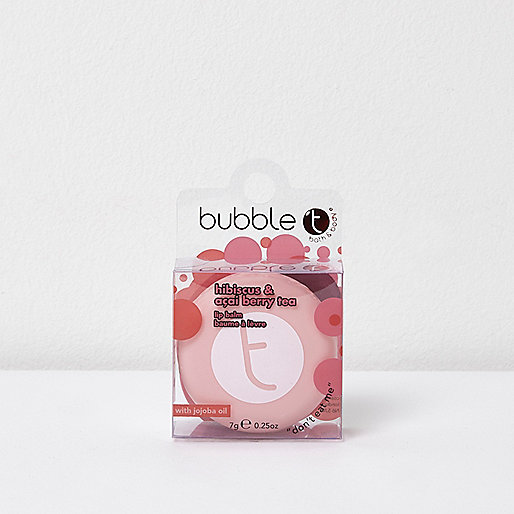 Bubble T hibiscus berry lip balm